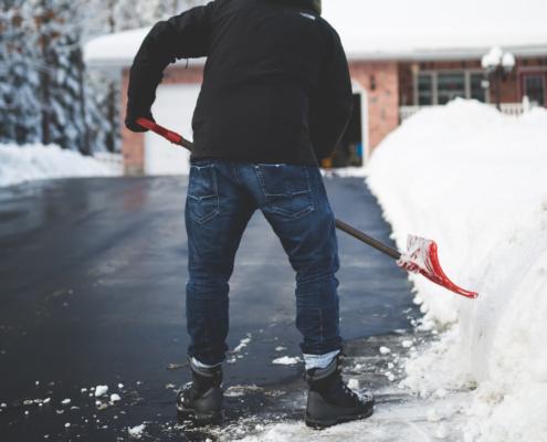 Creston Valley Insurance shovel safely